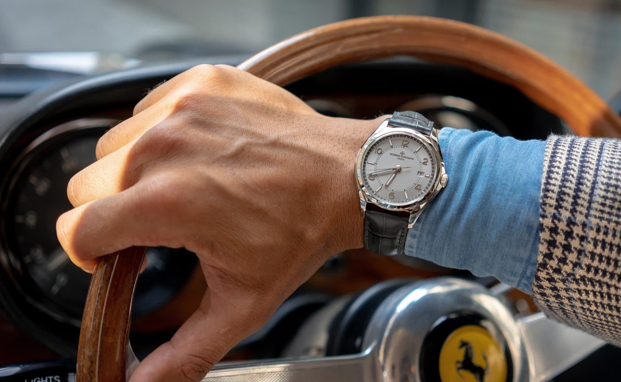 luxury brand influencer marketing - watch and ferrari